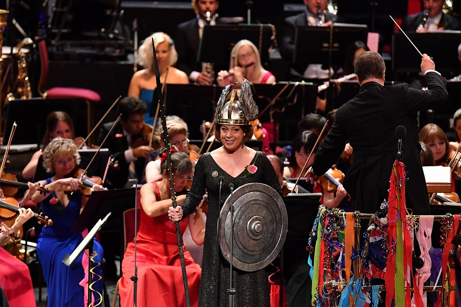Nina Stemme at the Last Night of the Proms