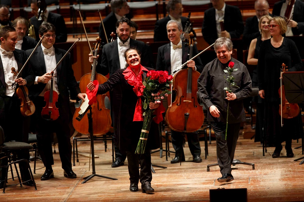 Bartoli and Pappano in Rome