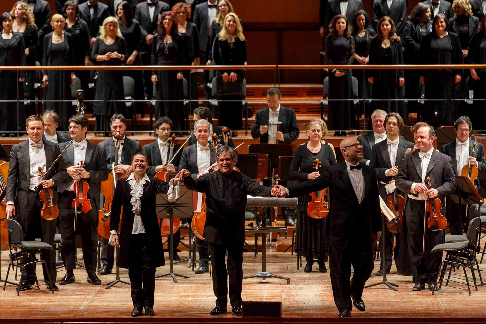 Bartoli, Johnston and Pappano in  Rome