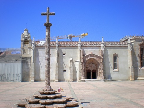Convento de Jesus and Cross in Setubal by David Nice