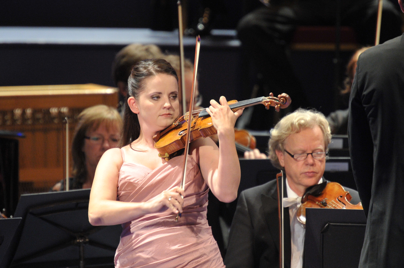 Baiba Skride at the 2013 Proms by Chris Christodoulou