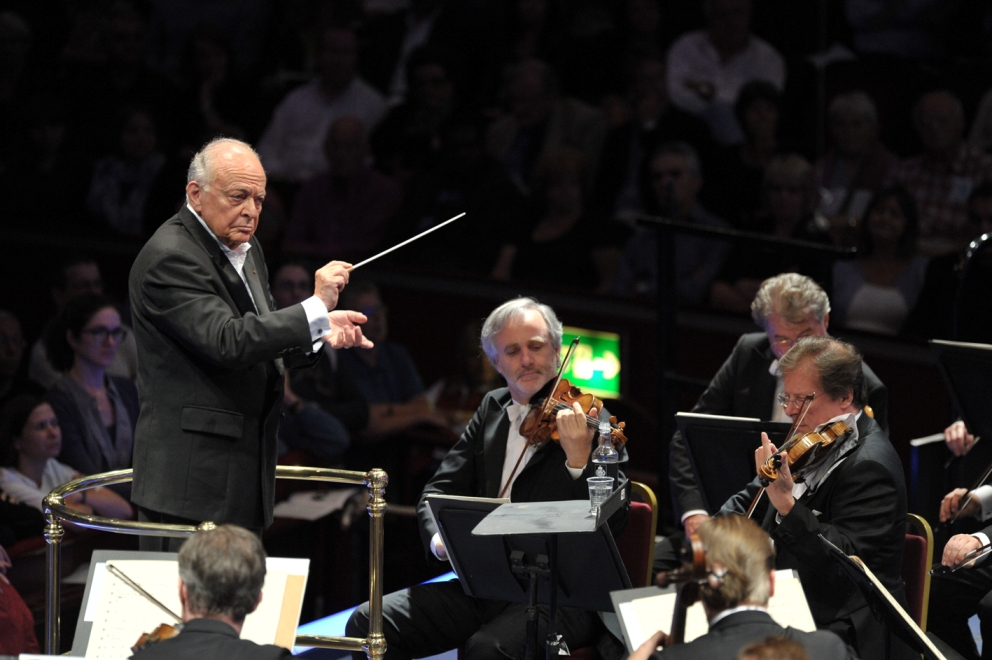 Maazel and the Vienna Philharmonic at the Proms by Chris Christodoulou