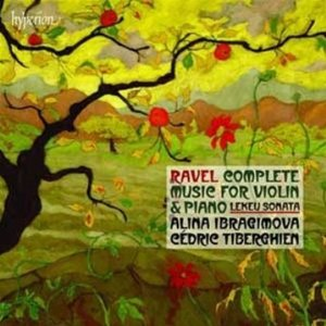 Ravel music for violin and piano
