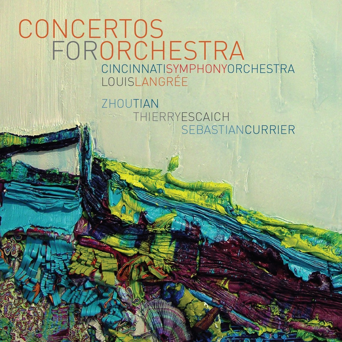 Concertos for Orchestra – music by Zhou Tian, Thierry Escaich and Sebastian Currier Cincinnati Symphony Orchestra/Louis Langrée
