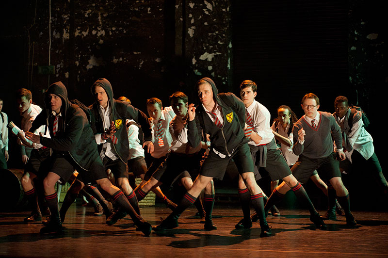 Hoodies in Matthew Bourne's Lord of the Flies
