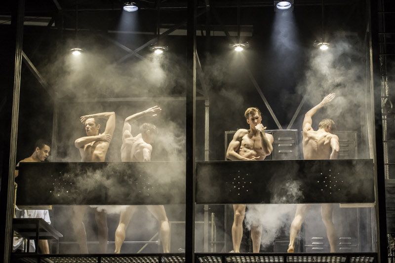 New Adventures in Matthew Bourne's The Car Man: ensemble