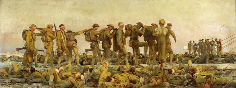 Gassed (1919) by John Singer Sargent