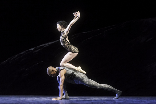 Eric Underwood and Sarah Lamb in the final pas de deux from Ravel Girl