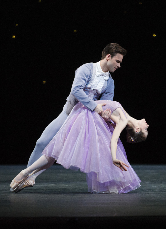 Alexander Campbell and Emma Maguire in In the Night, Royal Ballet