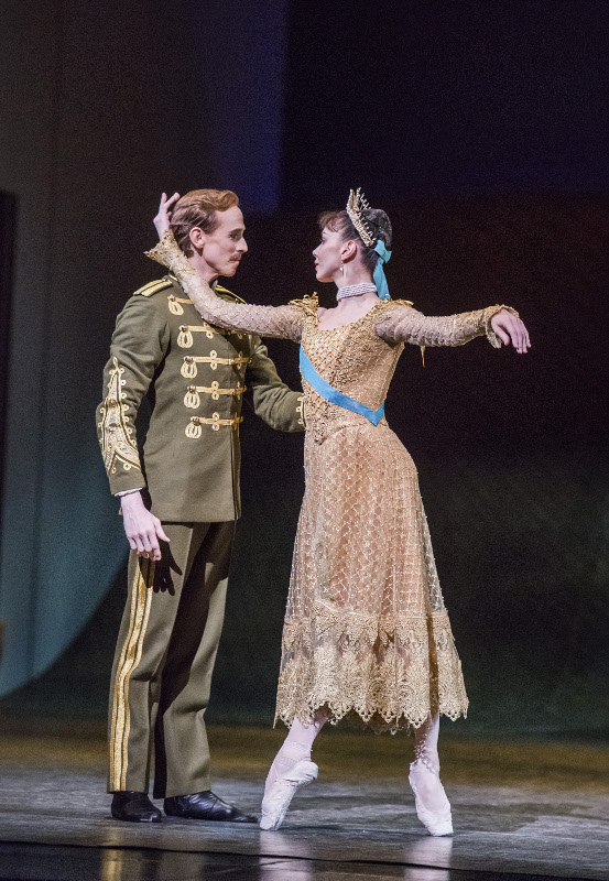 Natalia Osipova and Edward Watson in Kenneth MacMillan's Anastasia