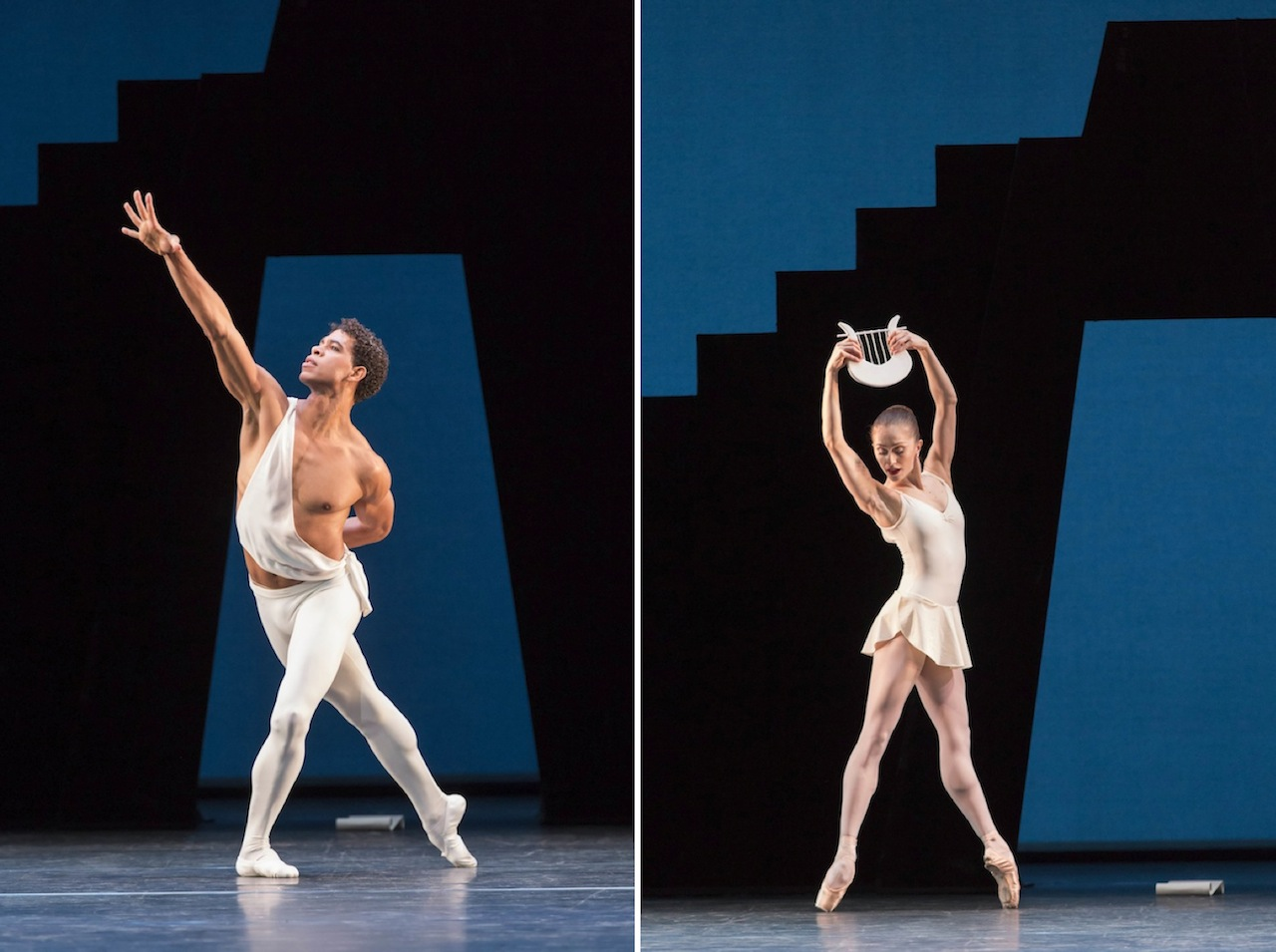 Carlos Acosta and Marianela Nuñez in George Balanchine's 'Apollo'