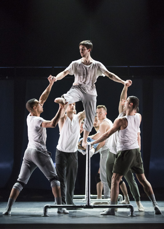 The BalletBoyz in Fiction by Javier de Frutos