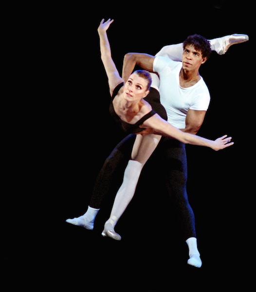 Carlos Acosta and Zenaida Yanowsky in a duet from George Balanchine's Agon