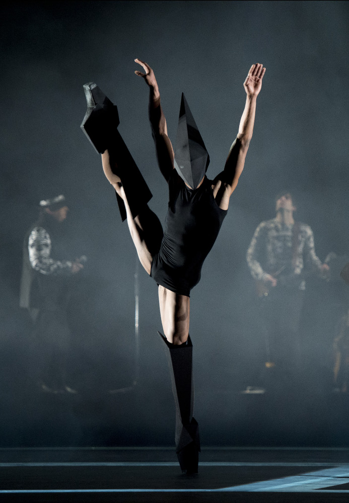 Eric Underwood in Carbon Life by Wayne McGregor. Photo by Bill Cooper.