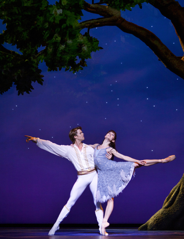 Matthew Golding and Anna Tsygankova in Christopher Wheeldon's Cinderella, performed by Dutch National Ballet