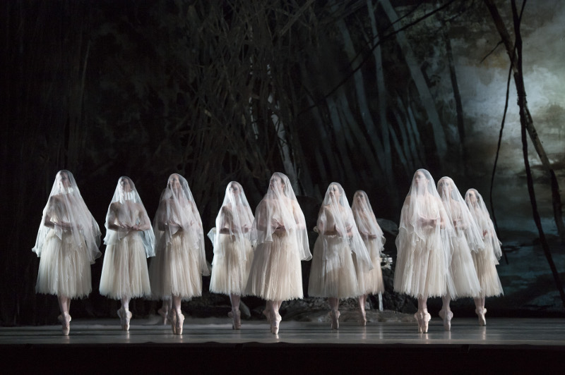 Artists of the Royal Ballet in Giselle. Photo by Bill Cooper.