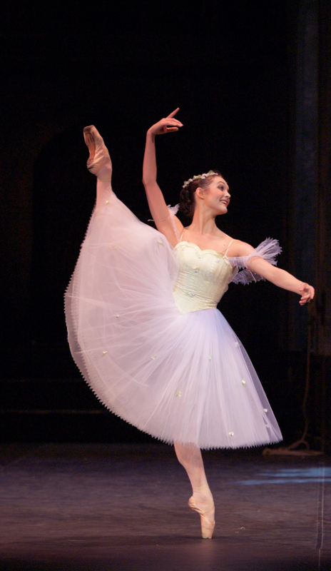 Jurgita Dronina as the Sylph in La Sylphide. Photo by Laurent Liotardo.