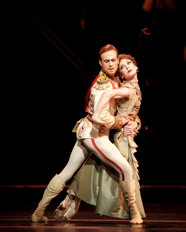Sarah Lamb and Edward Watson in Kenneth MacMillan's Mayerling. Photo by Alice Pennefather.