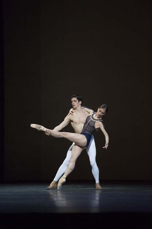 Marianela Nuñez and Federico Bonelli in Christopher Wheeldon's 'After the Rain' at the Royal Ballet. Photo by Bill Cooper.