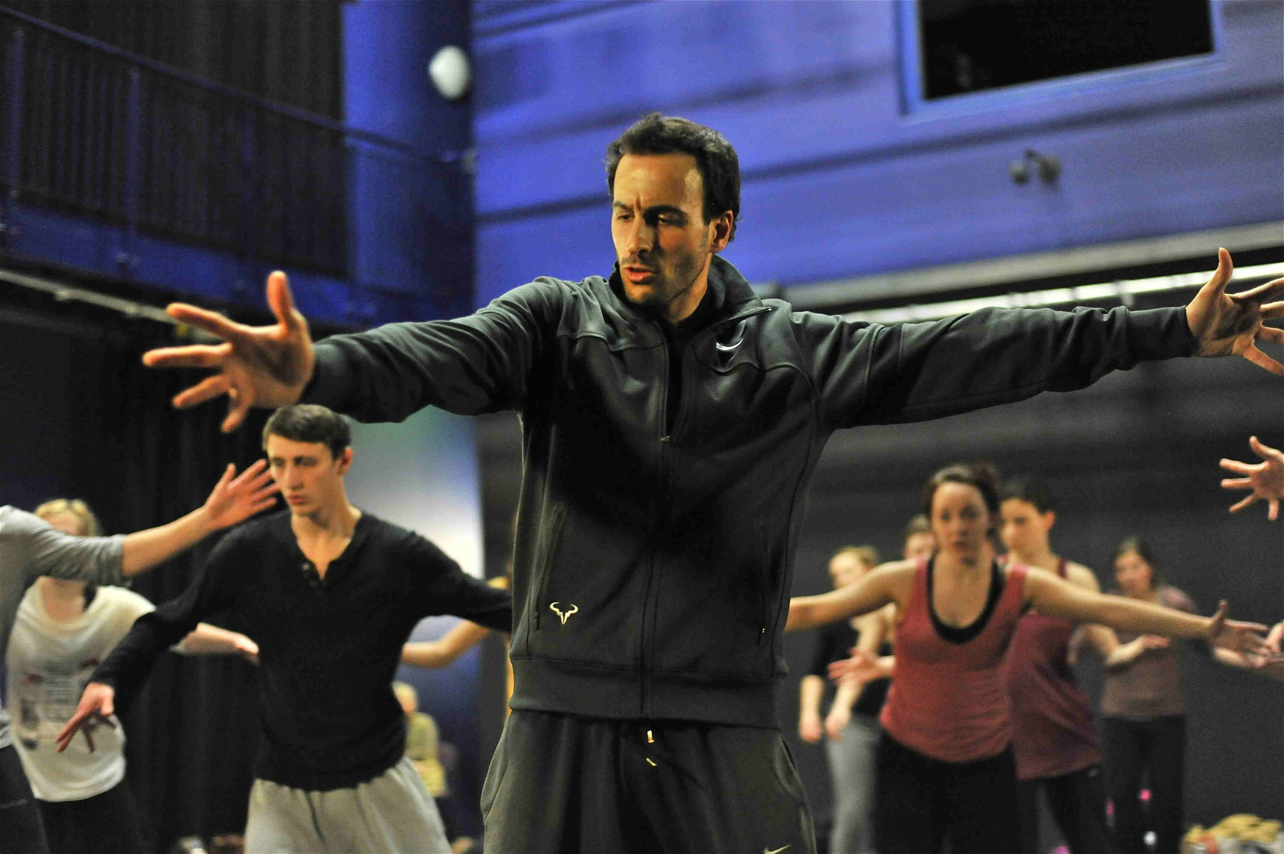 Hofesh Shechter does dance outreach work with young people