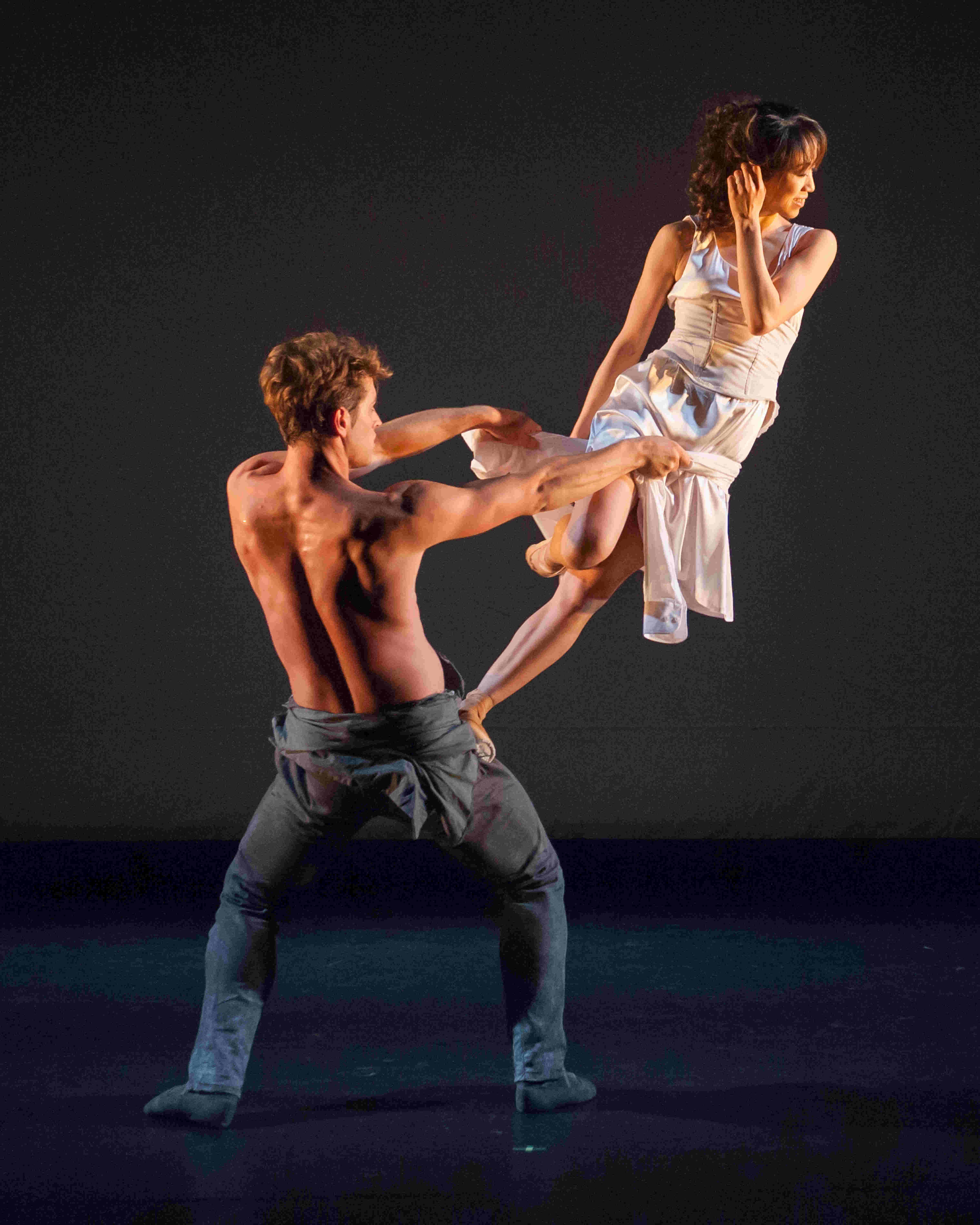 James Forbat and Erina Takahashi in James Streeter's 'In Living Memory'