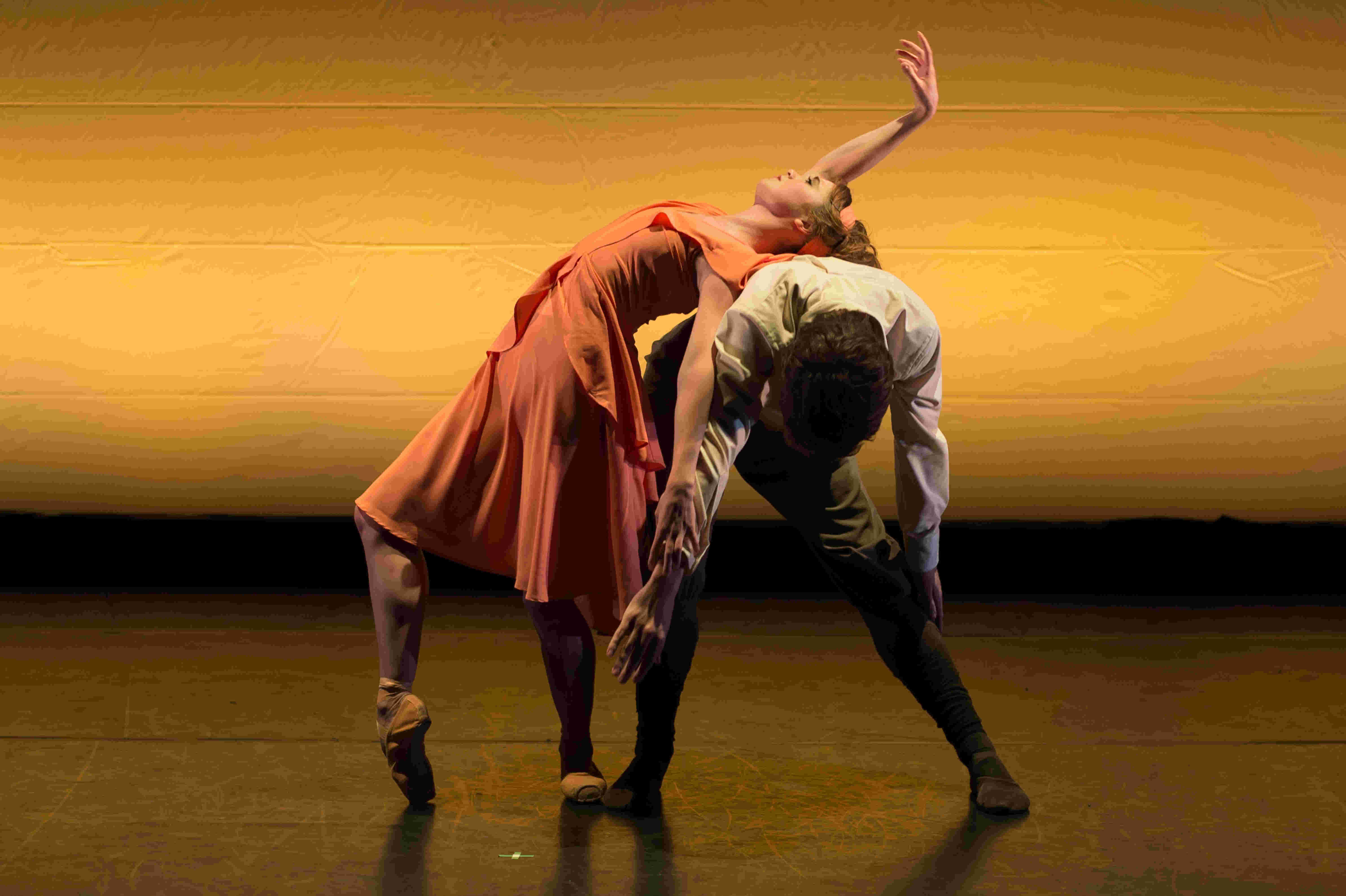 Nancy Osbaldeston and Guilherme Menezes in Stina Quagebeur's 'Vera'