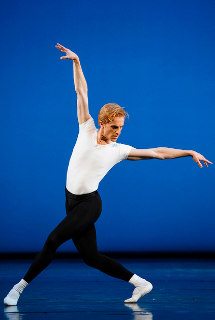 Steven McRae in George Balanchine's The Four Temperaments