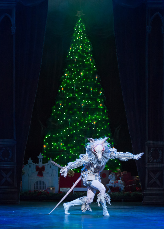 The Mouse King in ENB's production of Nutcracker
