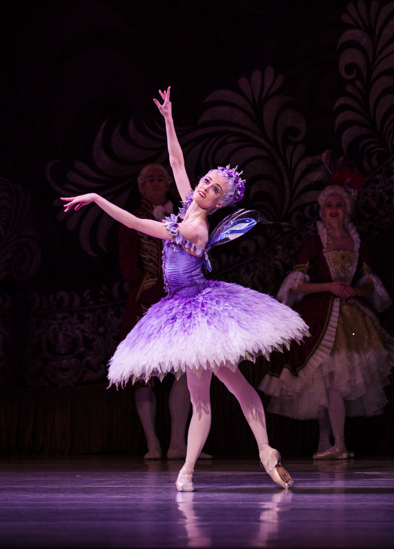 Amber Scott as the Lilac Fairy in The Australian Ballet's production of 'The Sleeping Beauty'. Photo by Kate Longley.