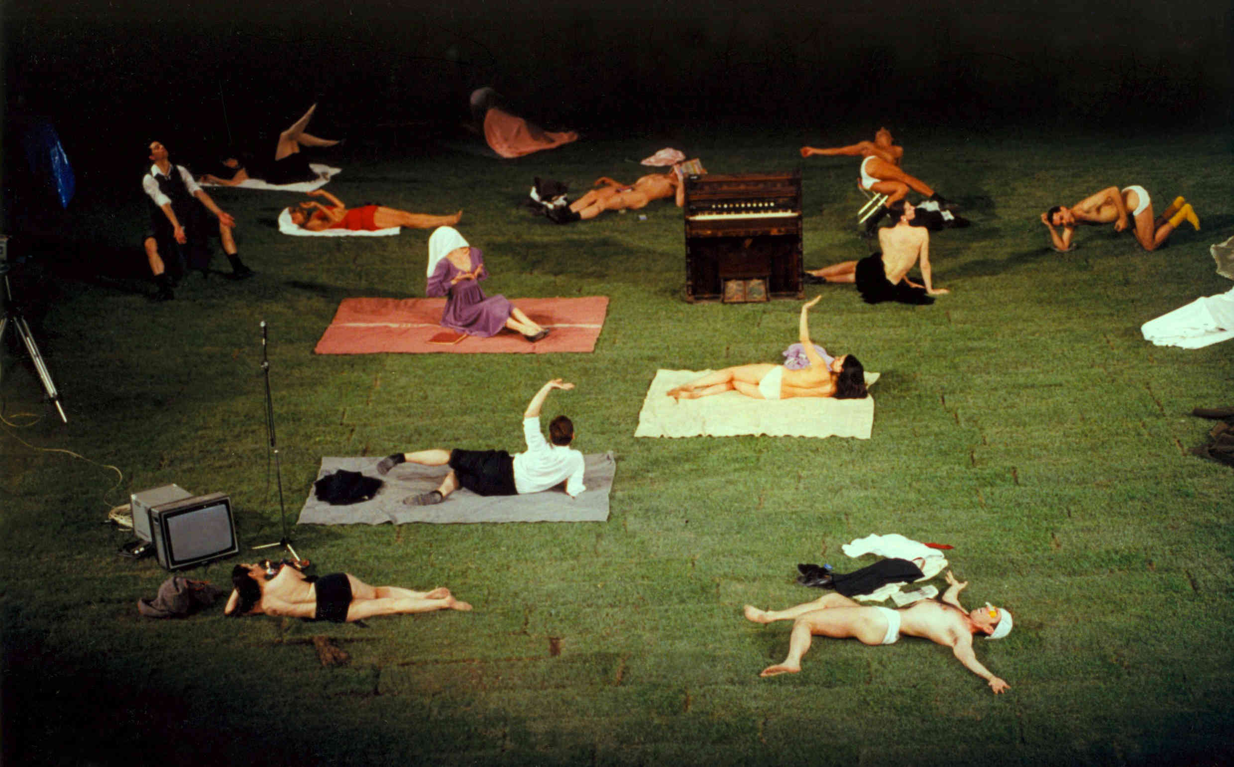 The cast of 1980 by Pina Bausch