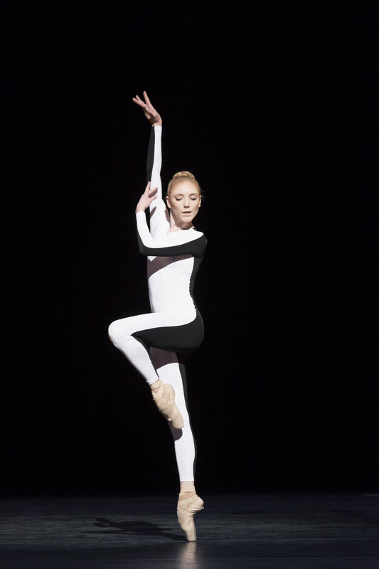 Royal Ballet dancer Sarah Lamb in Wayne McGregor's Tetractys - The Art of Fugue