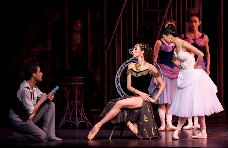 Alexander Campbel, Itziar Mendizabal and Yuhui Choe in The Two Pigeons, Royal Ballet