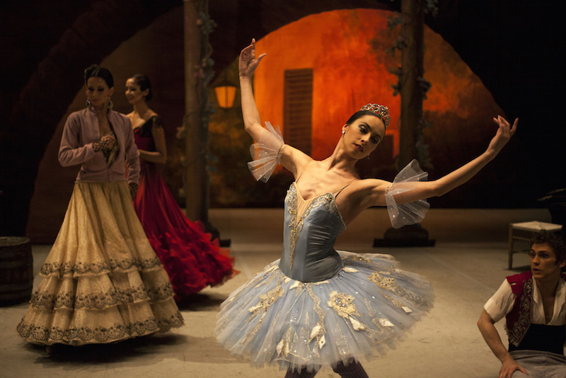 The Bolshoi's dancers perform 'Don Quixote'