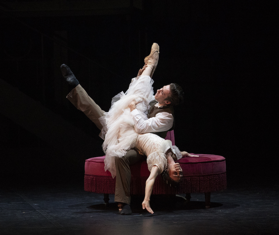 Abigail Prudames as Victoria and Joseph Taylor as Albert