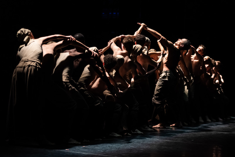 Dancers of ENB in Akram Khan's Dust