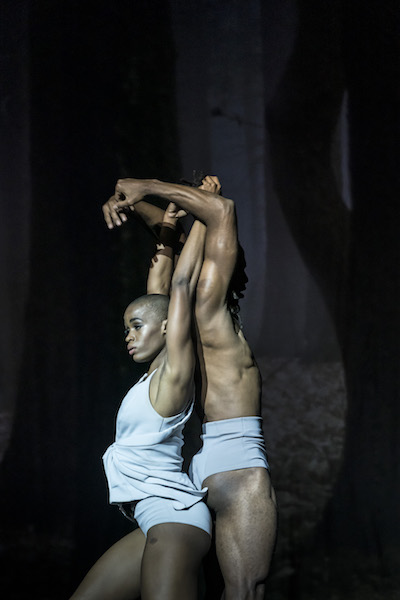 Zeleidy Crespo and Carlos Luis Blanco in 'Faun'