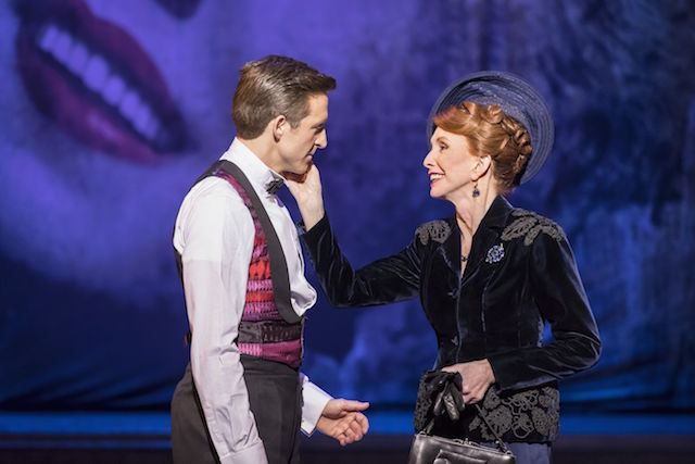 Maman's boy: Haydn Oakley and Jane Asher in Robert Fairchild and Leanne Cope in An American in Paris