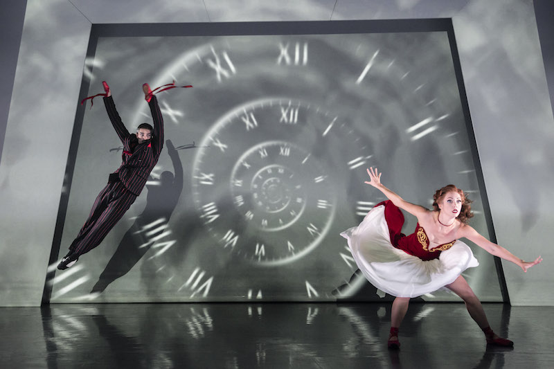 Liam Mower and Ashley Page in 'The Red Shoes'