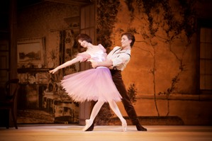 Lauren Cuthbertson and Sergei Polunin in Alice's Adventures in Wonderland