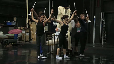 bourne sleeping beauty rehearsal