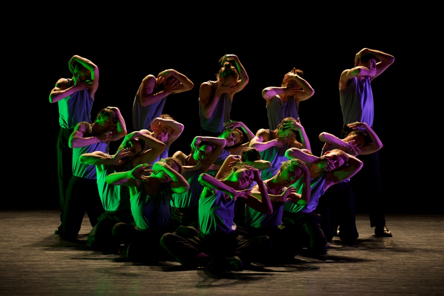 The Batsheva Junior Ensemble in 2012