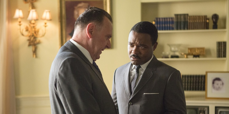 [pictured right: Tom Wilkinson and David Oyelowo]