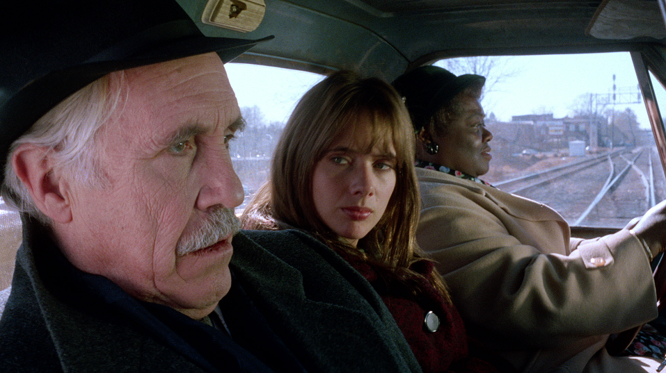Jason Robards, Rosanna Arquette and Mary Ratliff in Black Rainbow