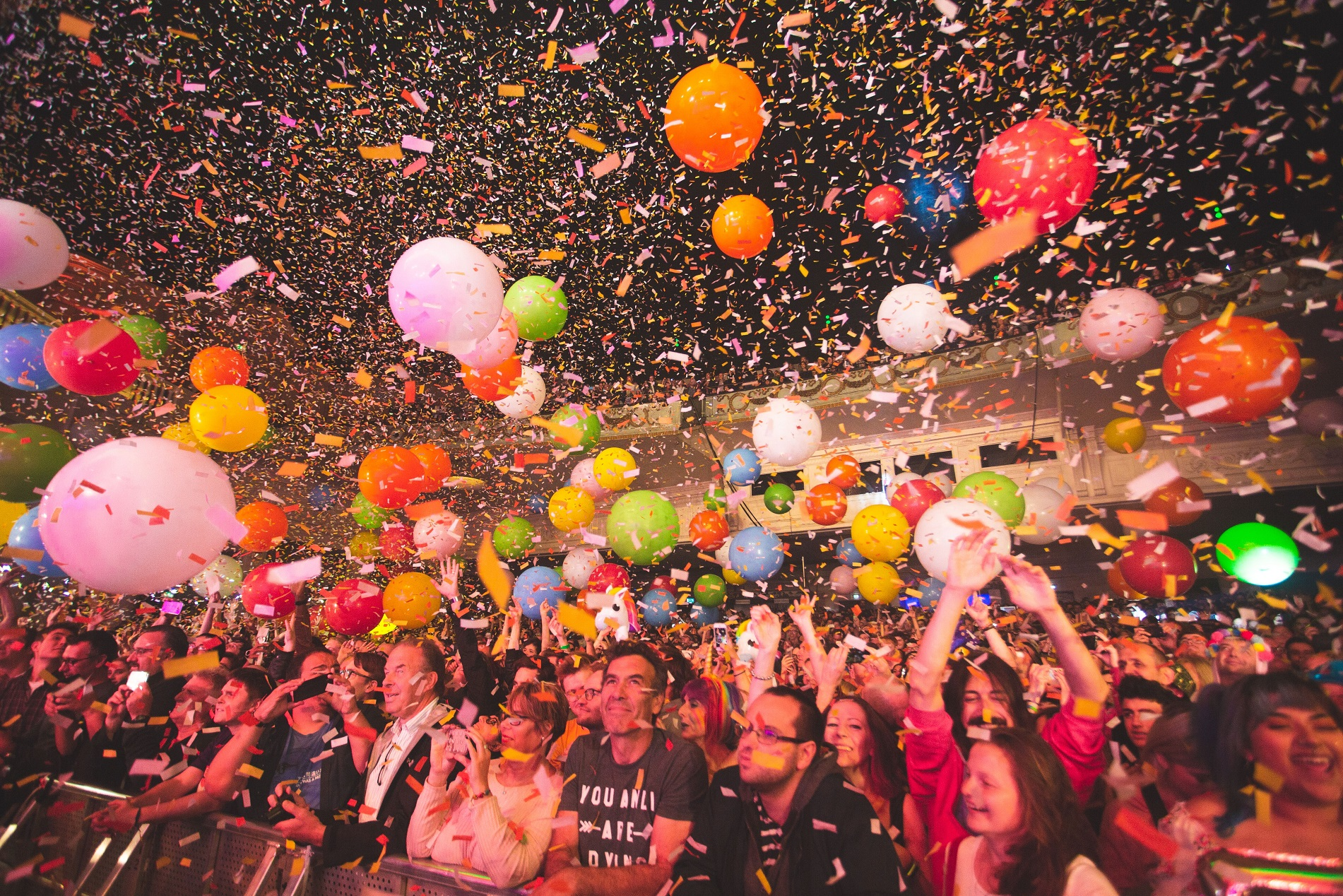 The Flaming Lips' crowd at Brixton Academy