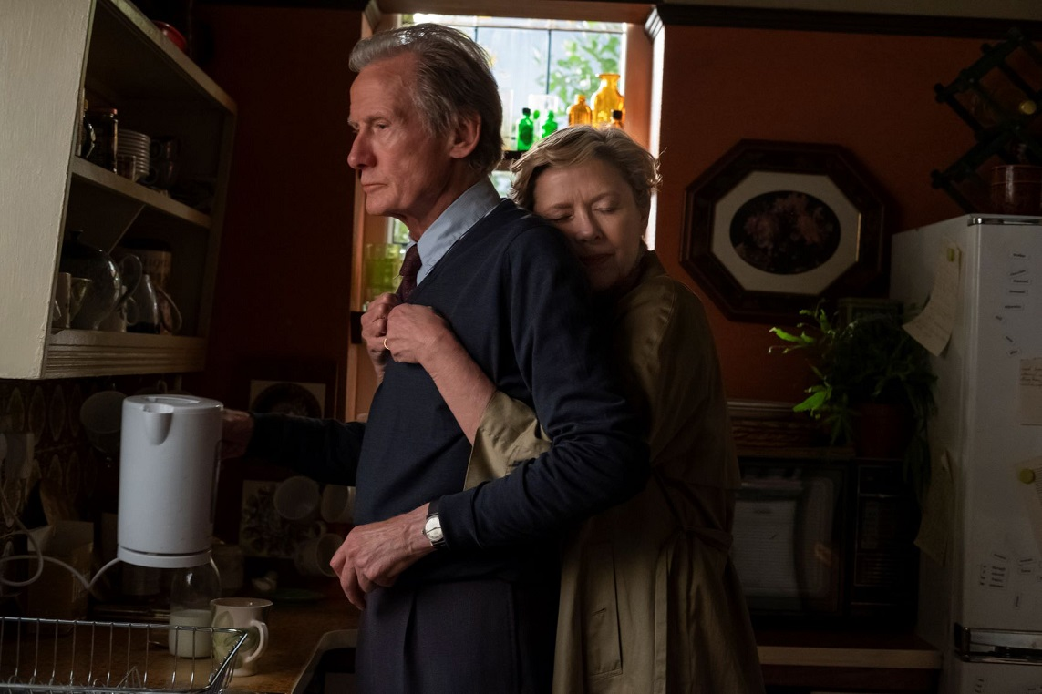 Edward (Bill Nighy) and Grace (Annette Bening) in Hope Gap