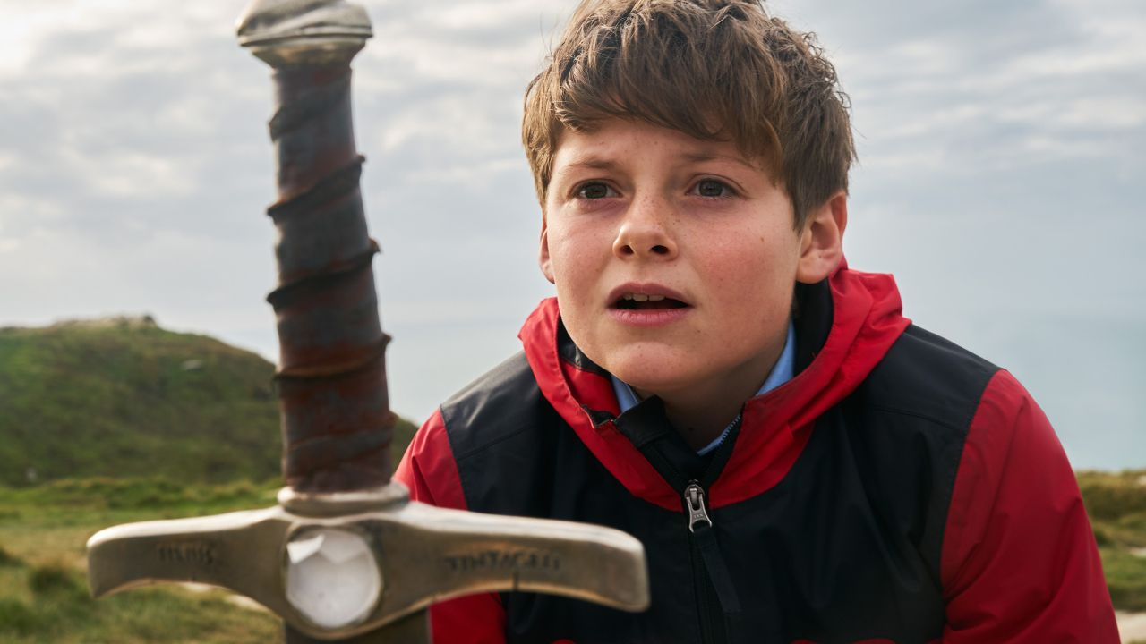 Alex (Louis Ashbourne Serkis) in The Kid Who Would Be King