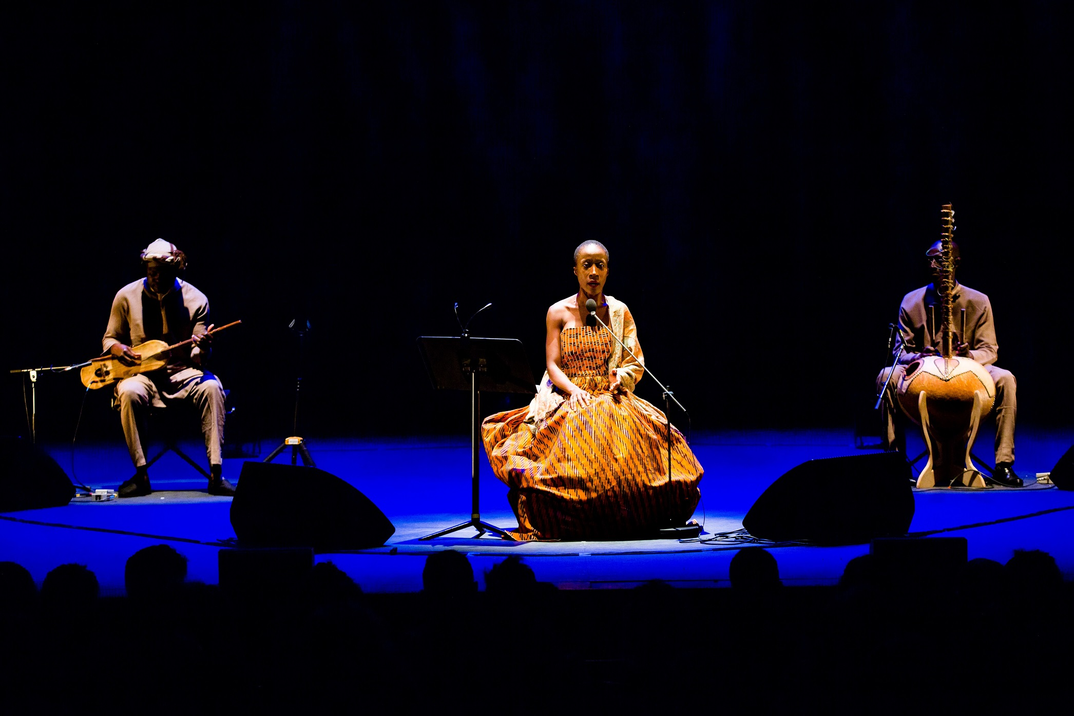 Rokia Traore and band at Dream Mande: Djata, Brighton Festival