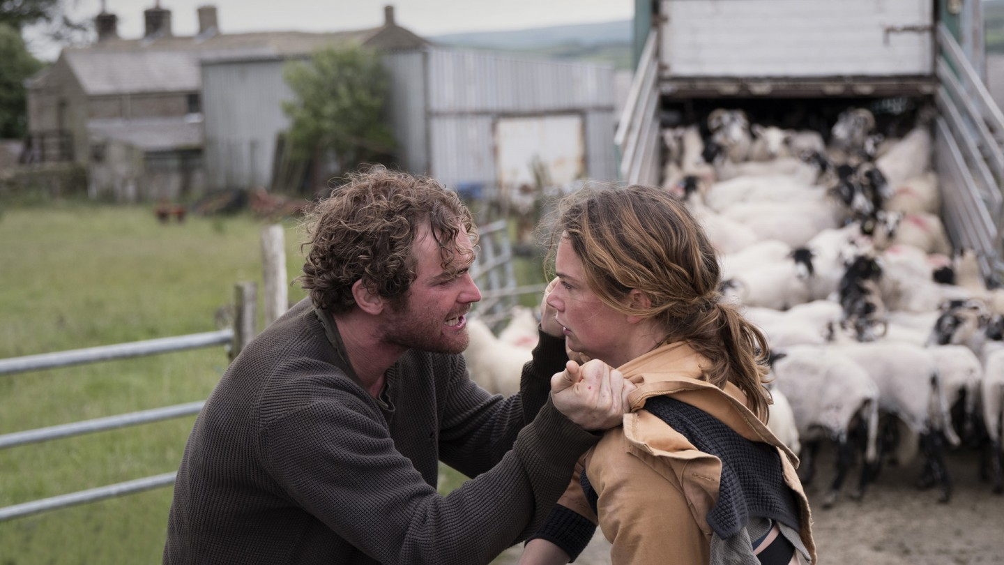 Joe (Mark Stanley) and Alice (Ruth Wilson) in Dark River