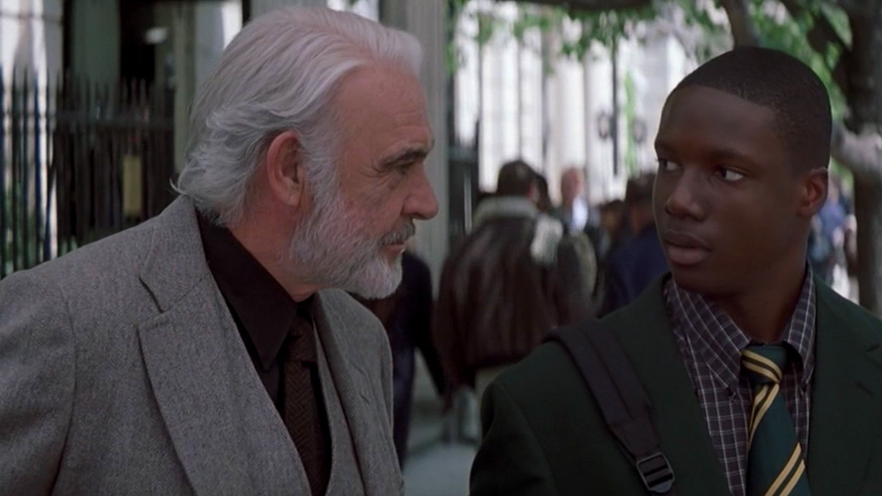 Sean Connery and Rob Brown in Finding Forrester