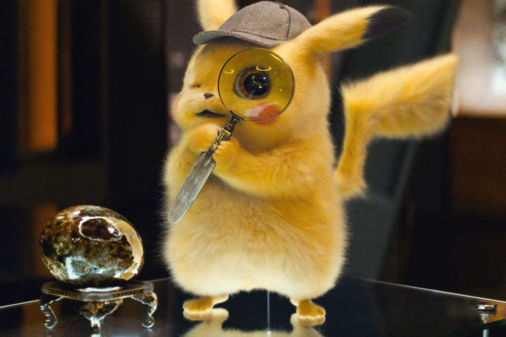 Pikachu (Ryan Reynolds) in Pokemon Detective Pikachu